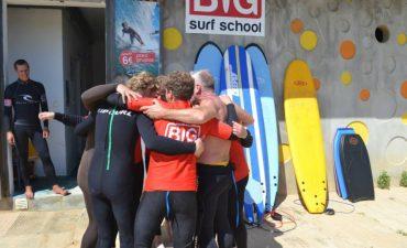 big surf school aniversários